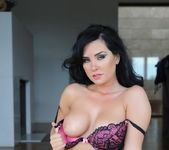Ann Denise teases in her bras and thong 10