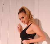 Holly Gibbons in black top and high waist panties 4