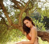 Jennifer teasing outdoors in her bikini 2