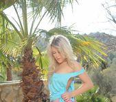 Rachel McDonald strips from her green top 8