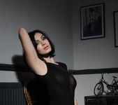Summer teasing in her black bodysuit 7