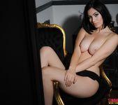 Summer teasing in her black bodysuit 16