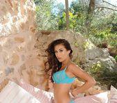 Chloe Goodman strips from her blue lingerie 6