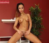 Viktoria Sweet fingers in pussy 9