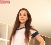 Abrill - teen playing with a dildo 2