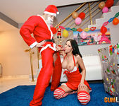 Abbie Cat - Santa Cum is coming to fuck 5