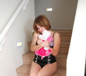 Misty - On The Stairs - SpunkyAngels 3