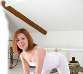 Rimma getting naked in her room - Nubiles 3
