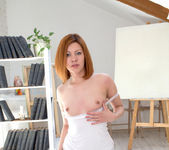 Rimma getting naked in her room - Nubiles 7