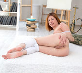 Rimma getting naked in her room - Nubiles 12