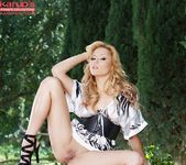Angelina Armani - blonde in the forest 7