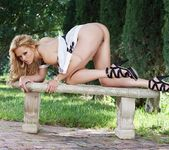 Angelina Armani - blonde in the forest 8
