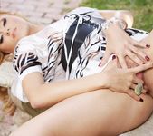 Angelina Armani - blonde in the forest 10