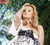 Angelina Armani - blonde in the forest 14