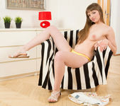 Viera naked in the living room - Nubiles 7