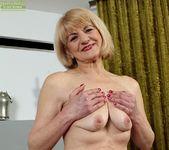 Clara - mature spreading her pussy 8