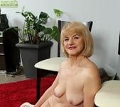 Clara - mature spreading her pussy 15
