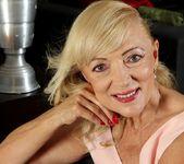 Janet Lesley - granny getting naked 2