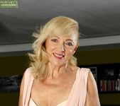 Janet Lesley - granny getting naked 4