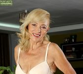 Janet Lesley - granny getting naked 5