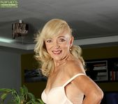 Janet Lesley - granny getting naked 6