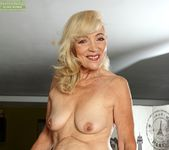 Janet Lesley - granny getting naked 8