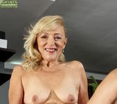 Janet Lesley - granny getting naked 11