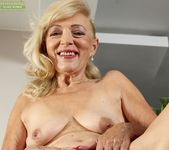Janet Lesley - granny getting naked 12