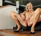 Janet Lesley - granny getting naked 15