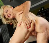 Janet Lesley - granny getting naked 18