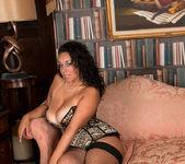 Anastasia Lux - Sexy Fishnet Stockings 8
