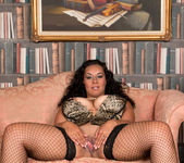 Anastasia Lux - Sexy Fishnet Stockings 15
