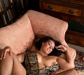 Anastasia Lux - Sexy Fishnet Stockings 16