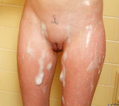 Emma Ryder showering and fingering herself 13