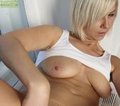 Emilia - blonde milf showing her pussy 13