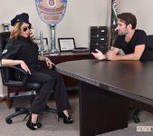 Christiana Cinn - Officer Kinky! - Footsie Babes 9
