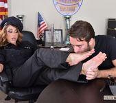 Christiana Cinn - Officer Kinky! - Footsie Babes 11