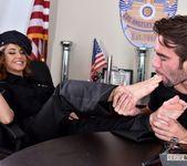 Christiana Cinn - Officer Kinky! - Footsie Babes 12