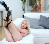 Cayla Lyons - dildo on the couch 10