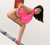Lady D - naked on the stairs 15