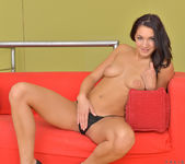 Felicia Kiss - naked on the sofa 6