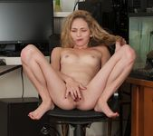 Angel Smalls pulling her pussy lips apart 12