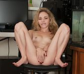 Angel Smalls pulling her pussy lips apart 15