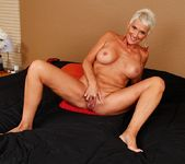 Lexy Cougar - short haired mature getting naked 17