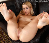 Goldie Wraps Her Sexy Feet Around a Pulsing Hard Cock 6