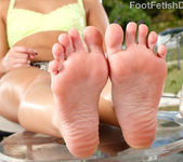 Cleo Vixen Wraps Her Sexy Feet Around a Hard Cock 4