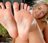 Cleo Vixen Wraps Her Sexy Feet Around a Hard Cock 5
