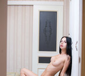 Veronica A - Tall & Thin Brunette Teen getting naked 18