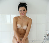 Celeste Blue taking a bath - Nubiles 17