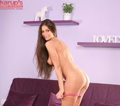 Lia Taylor fingering herself on the couch 11